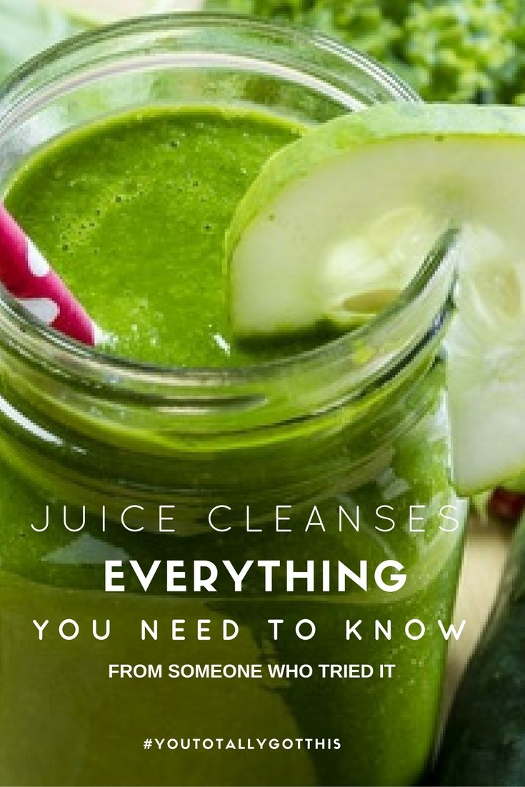 All the Hollywood A Listers are doing it, but do juice cleanses really work? Find out, from someone who tried it | http://www.youtotallygotthis.com/juice-cleanses-the-jury-is-in/ | #juicing #juicecleanse #diet