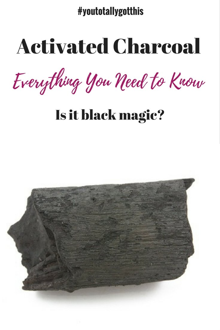 Activated charcoal is the newest way to detox. All the health nuts are raving about it. But does it work? | http://www.youtotallygotthis.com/activated-charcoal-black-magic/