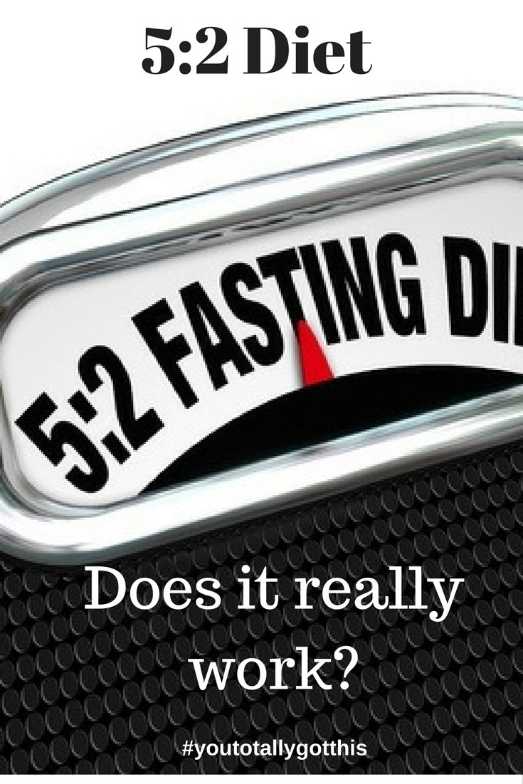 Have you wondered whether the 5:2 diet works? I tried it, find out whether I lost weight here | http://www.youtotallygotthis.com/52-diet-4-in-4/ | #diet #52diet