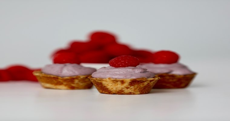 Mini Raspberry Tarts – Gluten Free, Dairy Free, Sugar Free