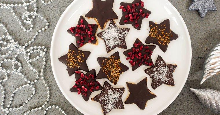 Gluten Free Sugar Free Christmas Shortbread