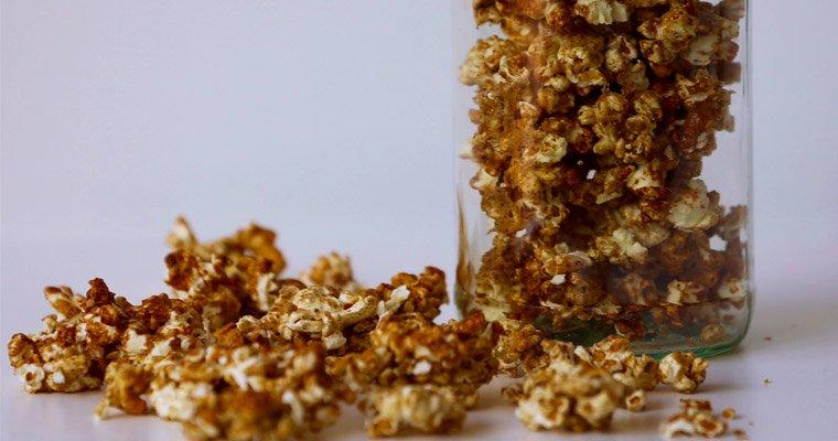 Salted Caramel Cinnamon Popcorn – Gluten-free, Dairy-Free, Fructose-Free