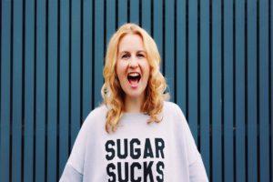 Rani Hansen wearing Sugar Sucks jumper - I Quit Sugar, Should You Quit Sugar too?