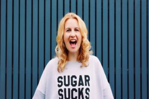 Rani Hansen wearing Sugar Sucks jumper - I Quit Sugar, Should You Quit Sugar too?