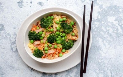 15 Minute Fried Rice & It's Seriously Good!