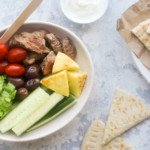 Lamb Souvlaki Bowl - You Totally Got This - Quick & Easy Recipe
