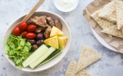 Lamb Souvlaki Bowl – A Taste of Greece in Less than 15 Minutes