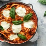 Healthy One Pan Lasagne - You Totally Got This - Quick & Easy Recipe