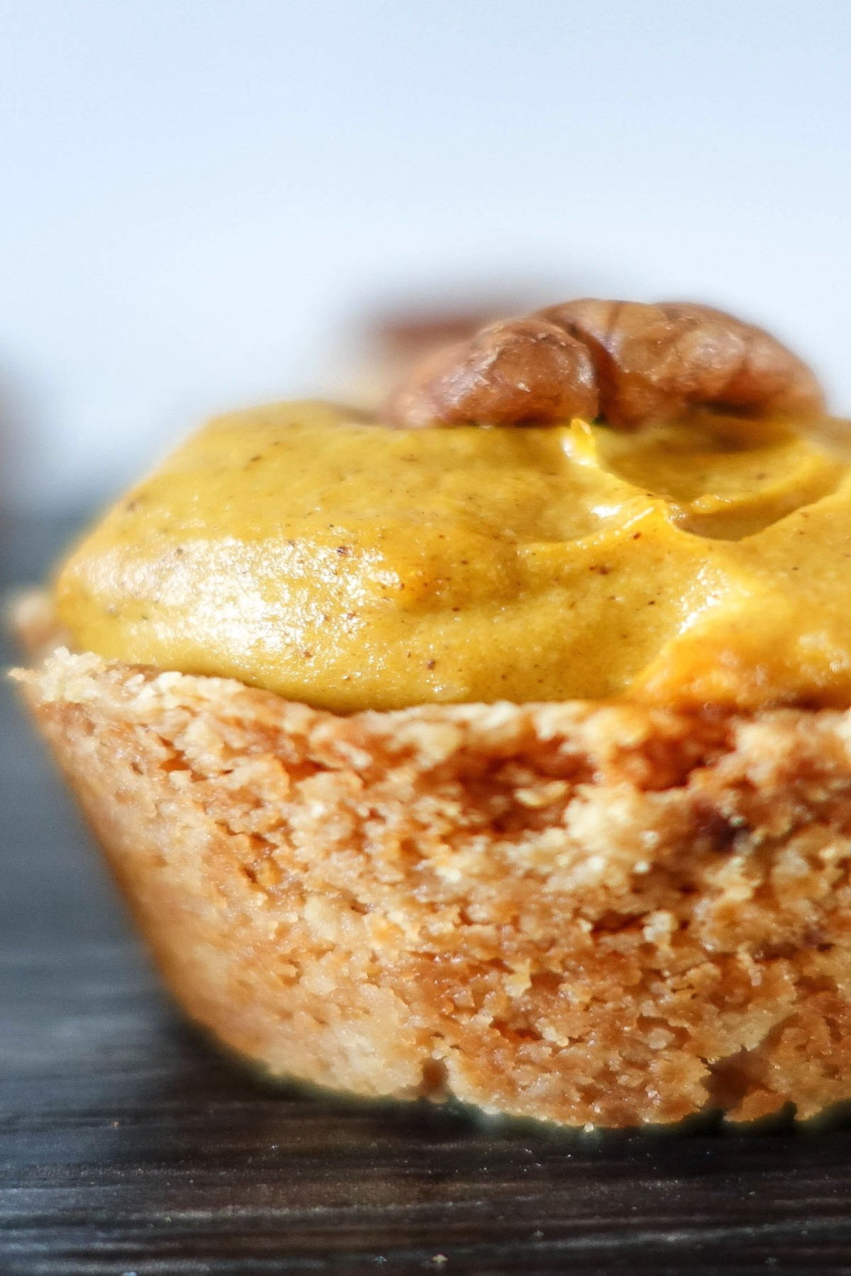 Healthy Mini Pumpkin Pies - You Totally Got This - Quick & Easy Recipe