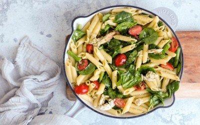 Chicken Pesto Pasta – The Tastiest 20 Minute Meal Ever