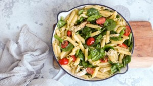 Chicken Pesto Pasta - You Totally Got This - Quick & Easy Recipe