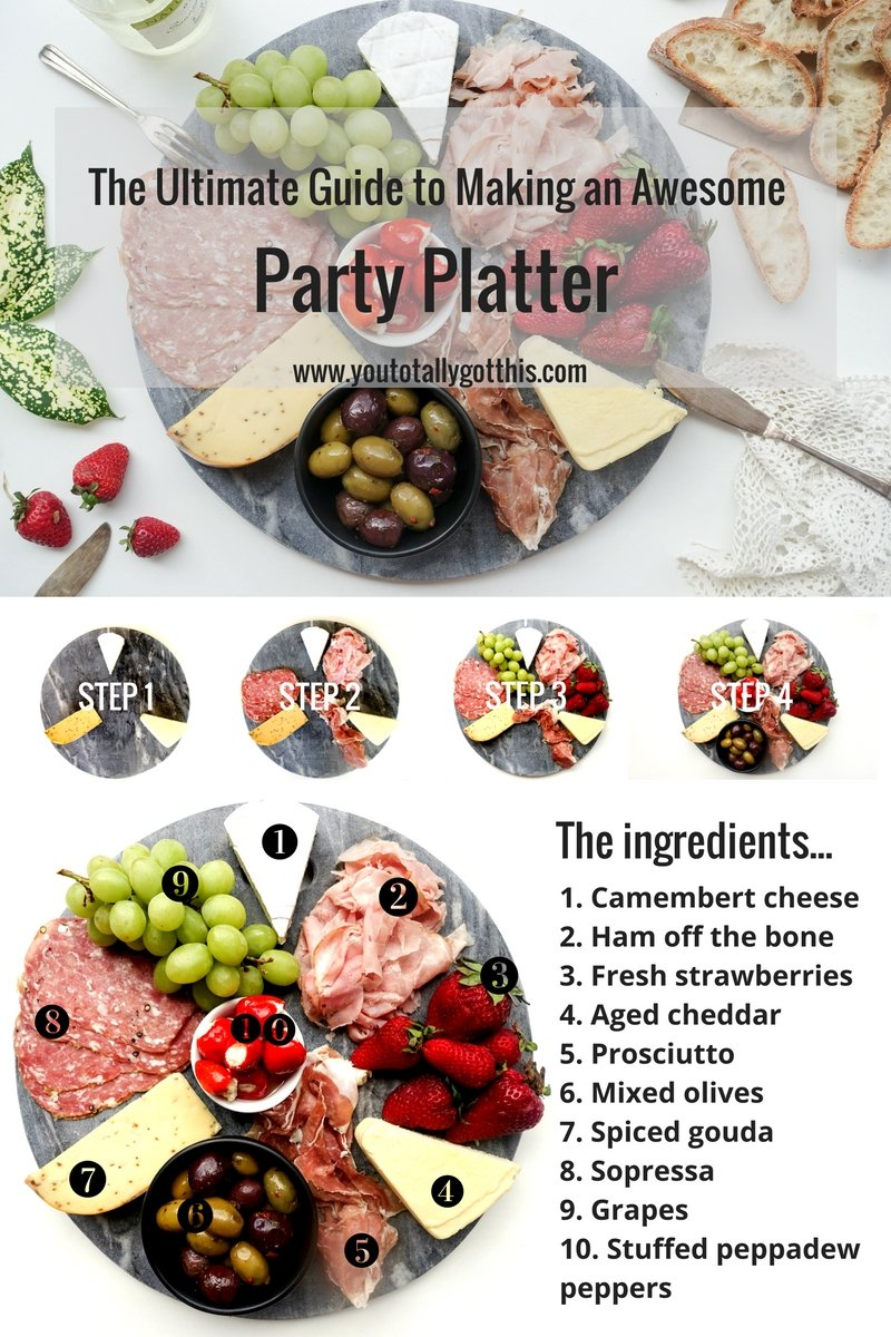 The Ultimate Guide to Making a Party Platter