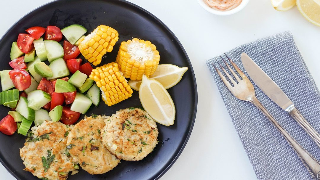 Quick & Healthy Crab Cakes - You Totally Got This - Quick 7 Easy Recipe