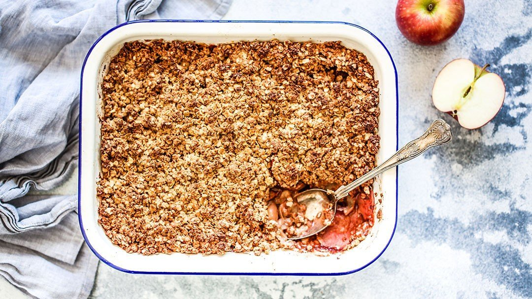 Healthy Apple Crumble – So Good it Will Blow Your Mind