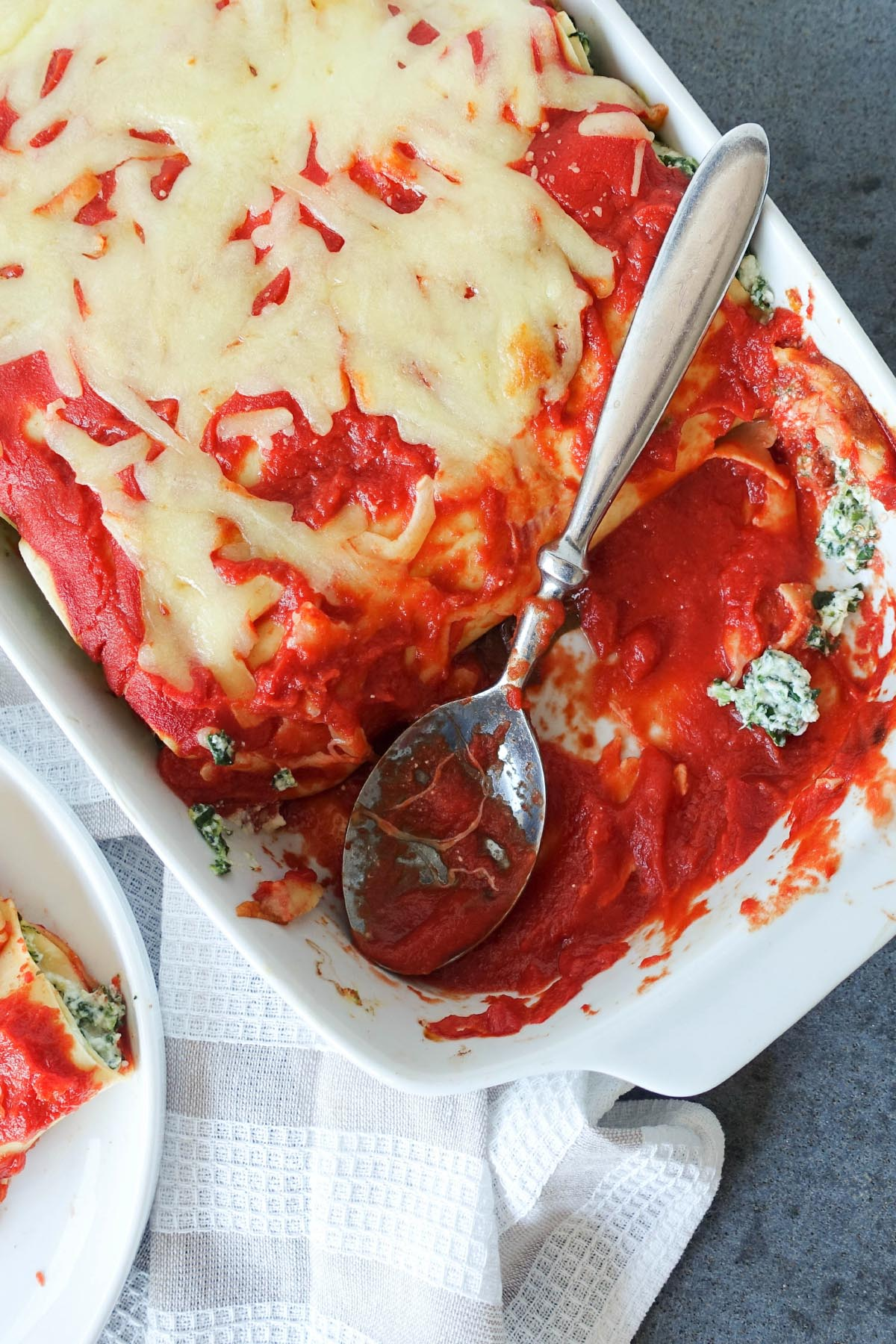 Spinach & Ricotta Cannelloni - You Totally Got This - Quick & Easy Recipe