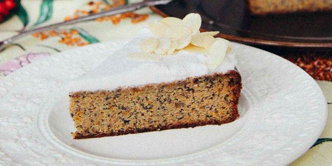 Whole orange poppy seed cake - I Quits Sugar