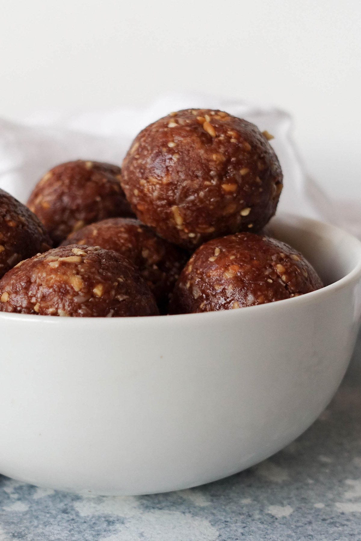 Chocolate Peanut Butter Bliss Balls - You Totally Got This - Quick & Easy Recipe