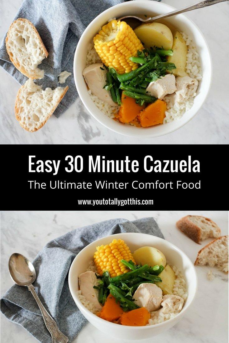 Easy Cazuela Recipe - The Ultimate Comfort Winter Food in 30 Minutes