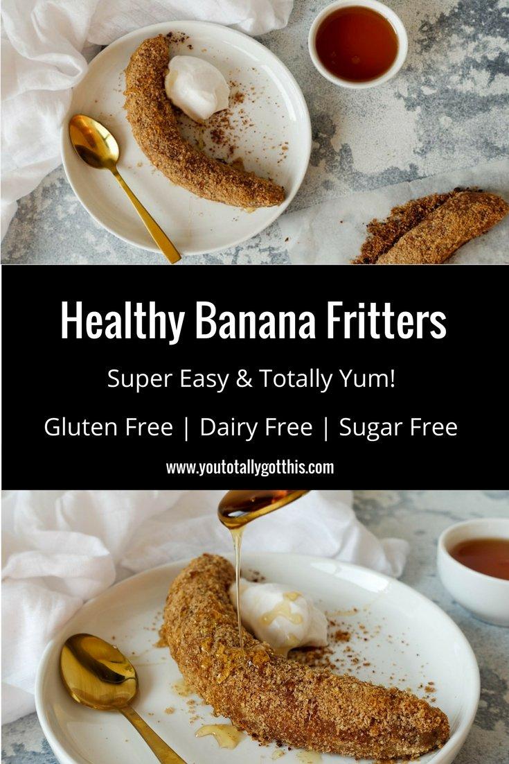Healthy Banana Fritters Recipe