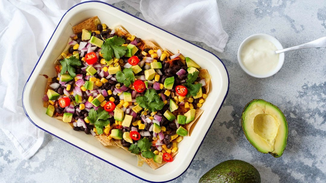 Amazingly Healthy Nachos With The Lot Recipe