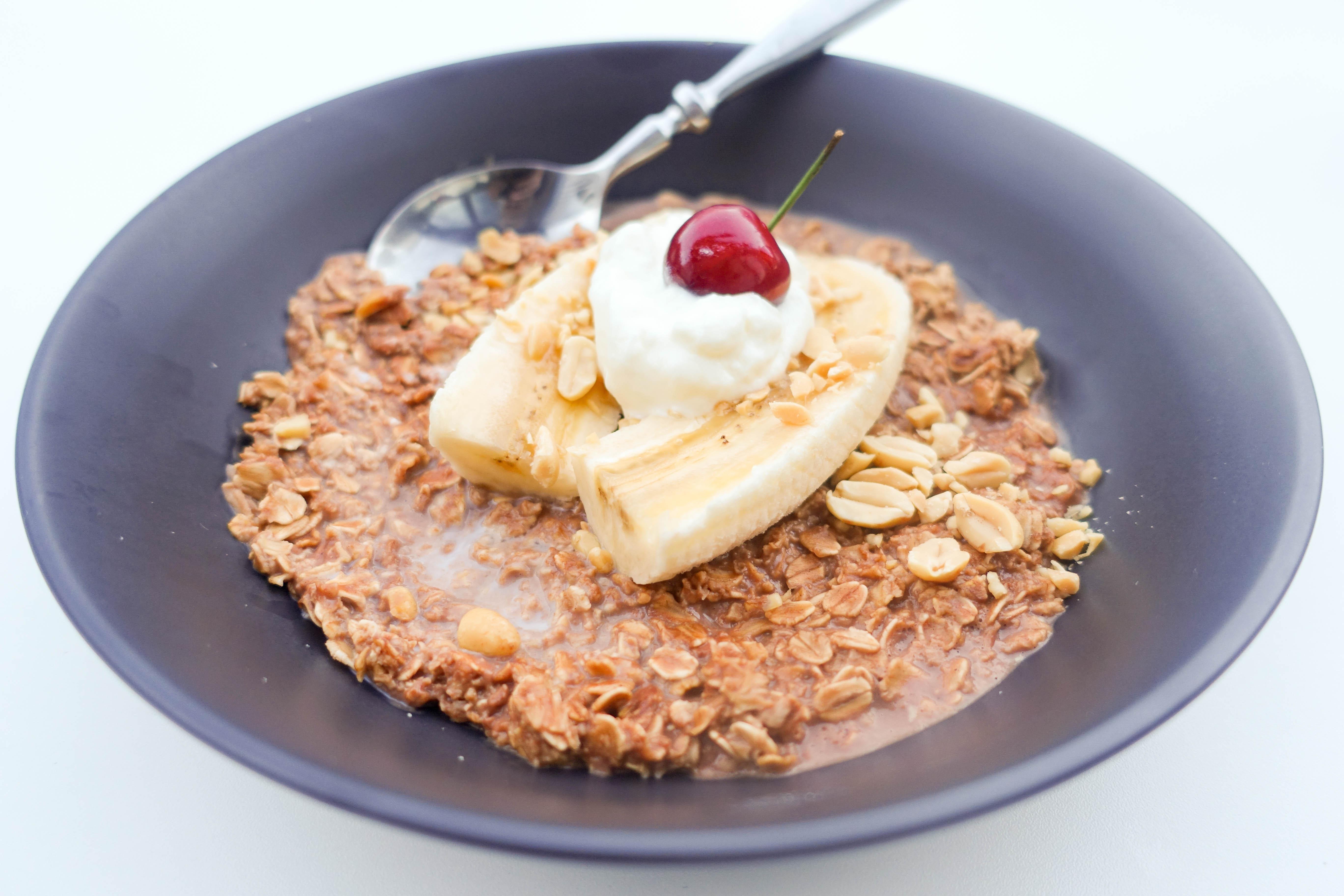 Banana Split Porridge Recipe