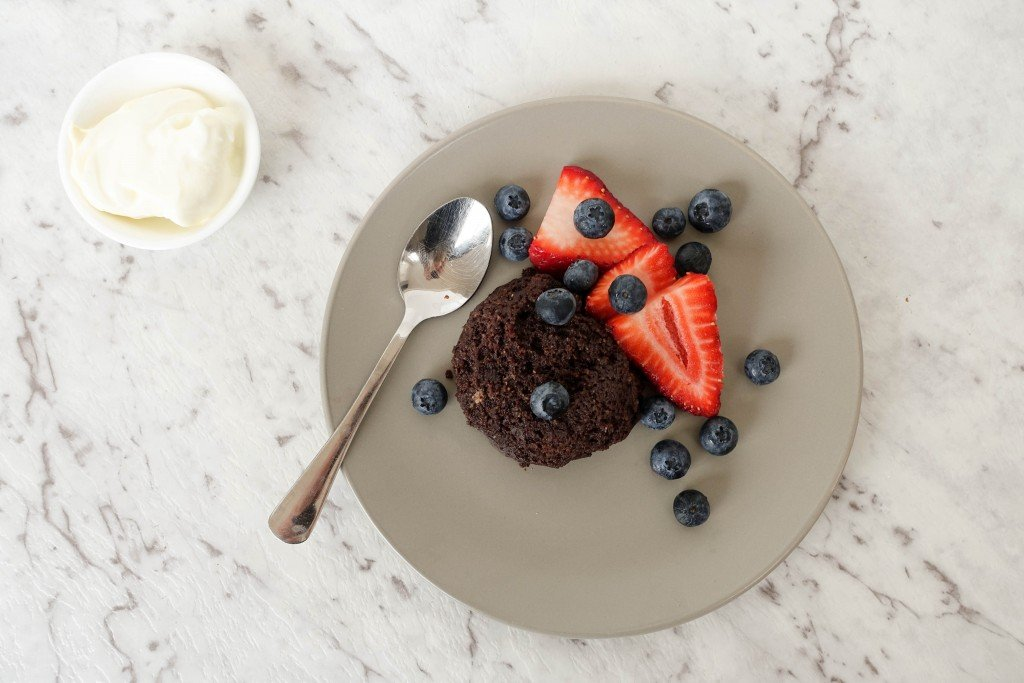 Breakfast Chocolate Mug Cake Recipe