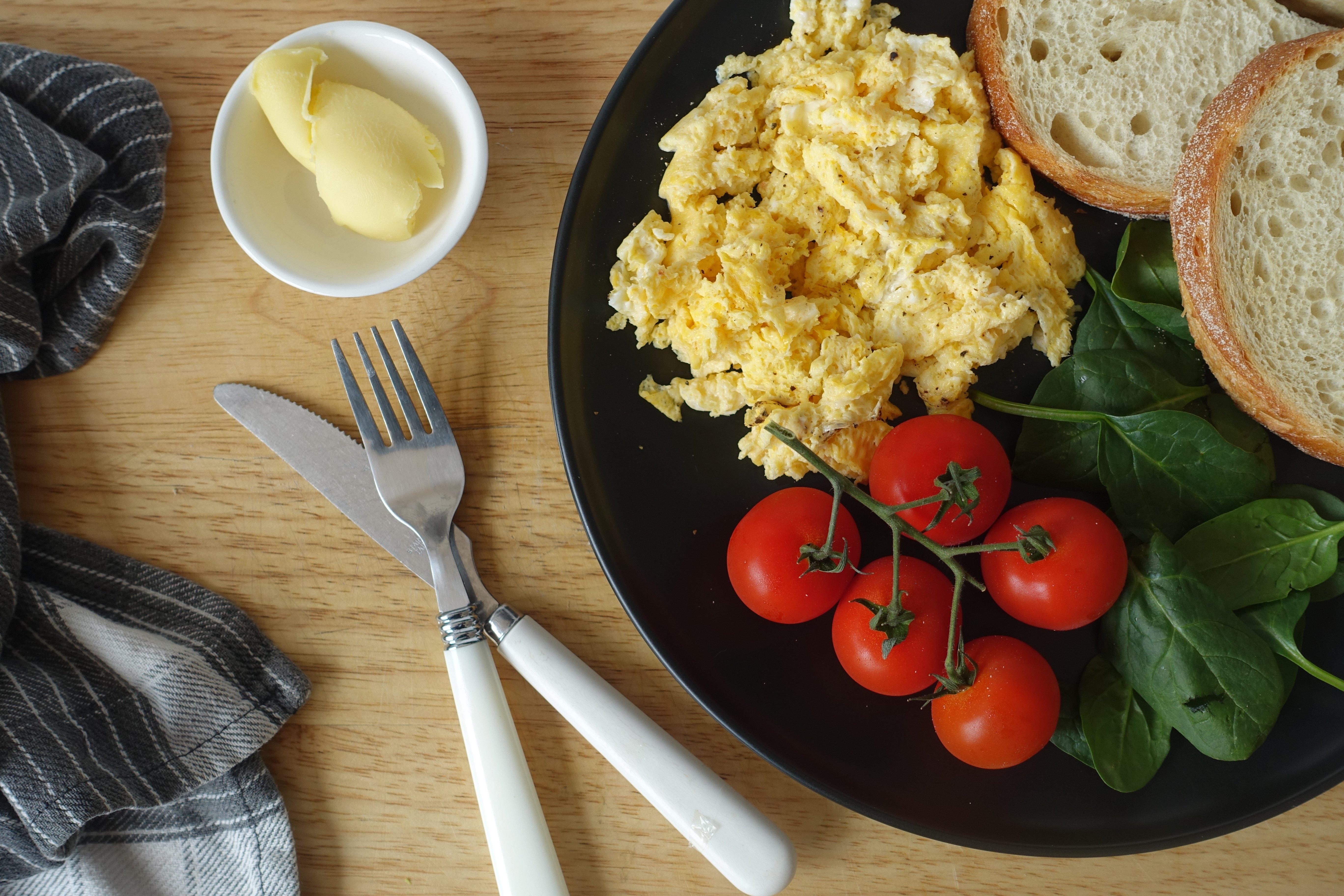 Microwave Scrambled Eggs Recipe