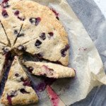 Bluberry + Yoghurt Sugar Free Scones - You Totally Got This - Quick & Easy Recipes