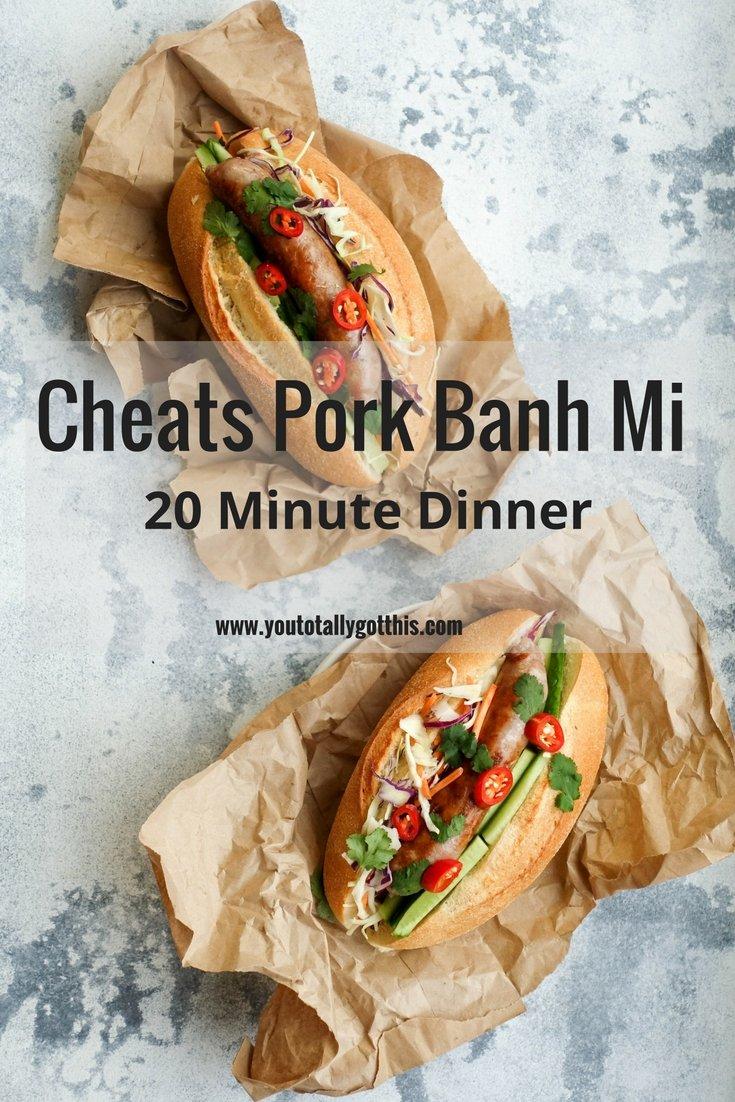 Cheats Pork Banh Mi Recipe