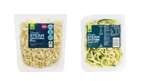 Cauliflower Rice Zucchini Spaghetti - Woolworths Supermarket