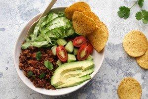 Cheesy Beef Taco Bowls Recipe