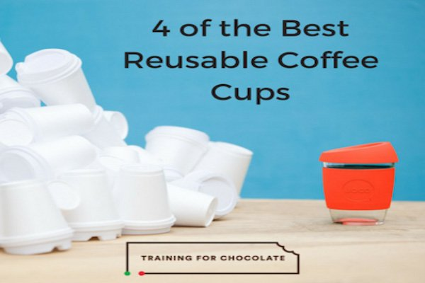 Vicky Training for Chocolate - 4 Best Reuseable Coffee Cups - Aussie Bloggers