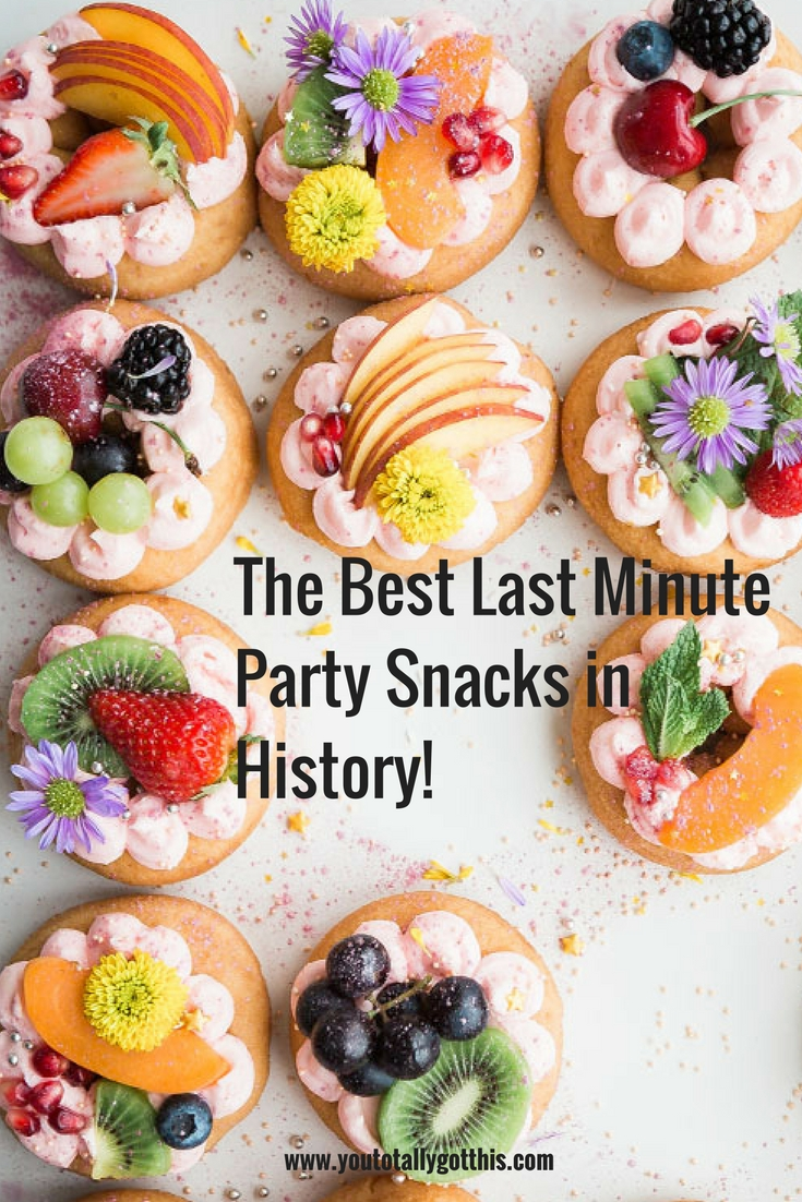 9 Last Minute Party Snacks