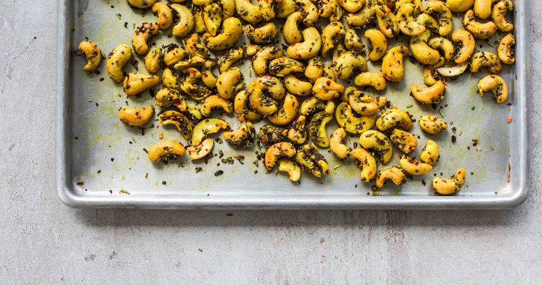 Turmeric Chia Cashews - Last Minute Party Snacks - You Totally Got This