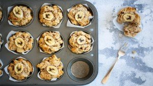 Easy Apple & Banana Sugar Free Muffins - You Totally Got This - Quick & Easy Recipes
