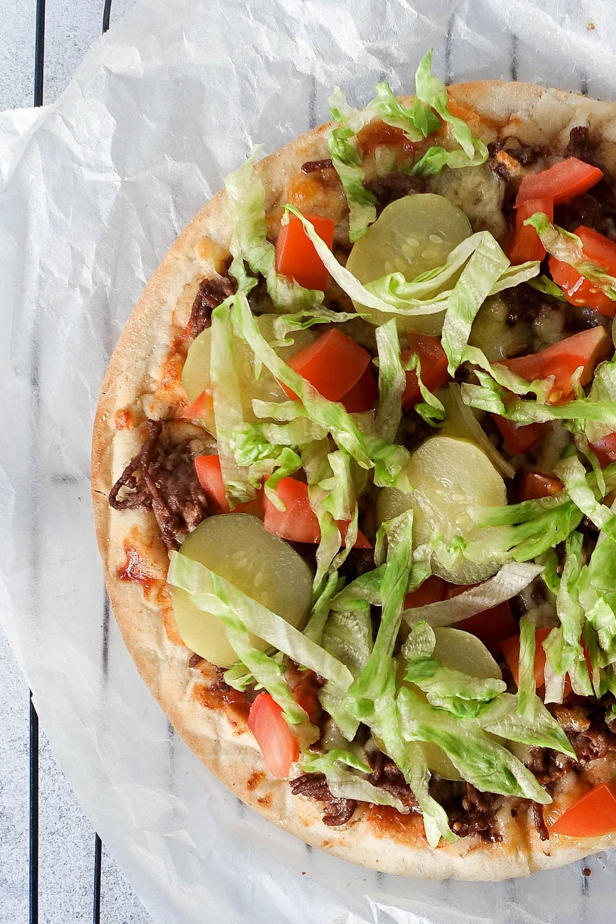 Cheeseburger Pizza - You Totally Got This - Quick & Easy Recipes
