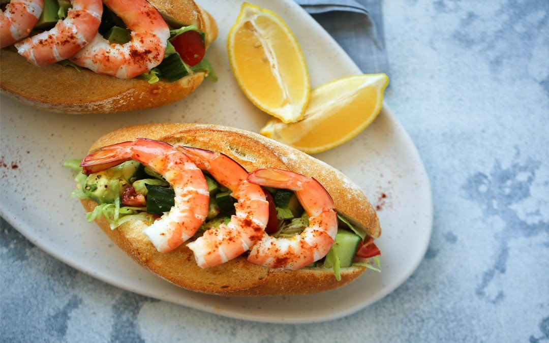 Prawn Cocktail Dinner Roll – Fresh, Tasty & So Yum!