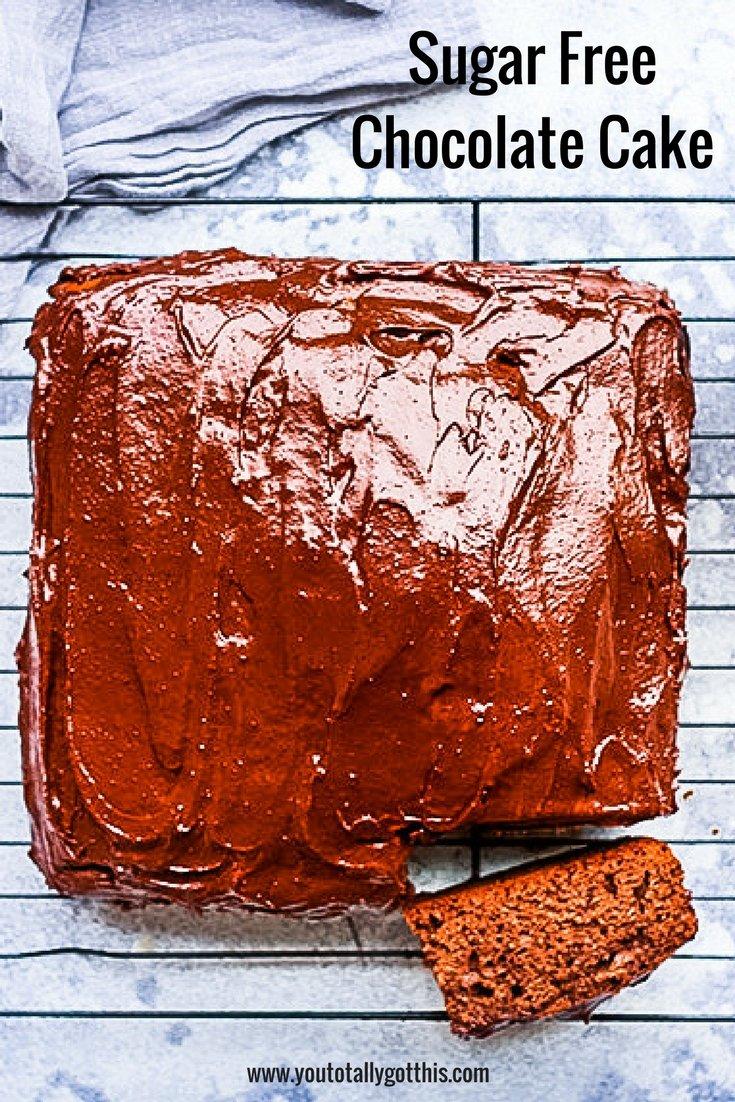 The Ultimate Sugar Free Chocolate Cake