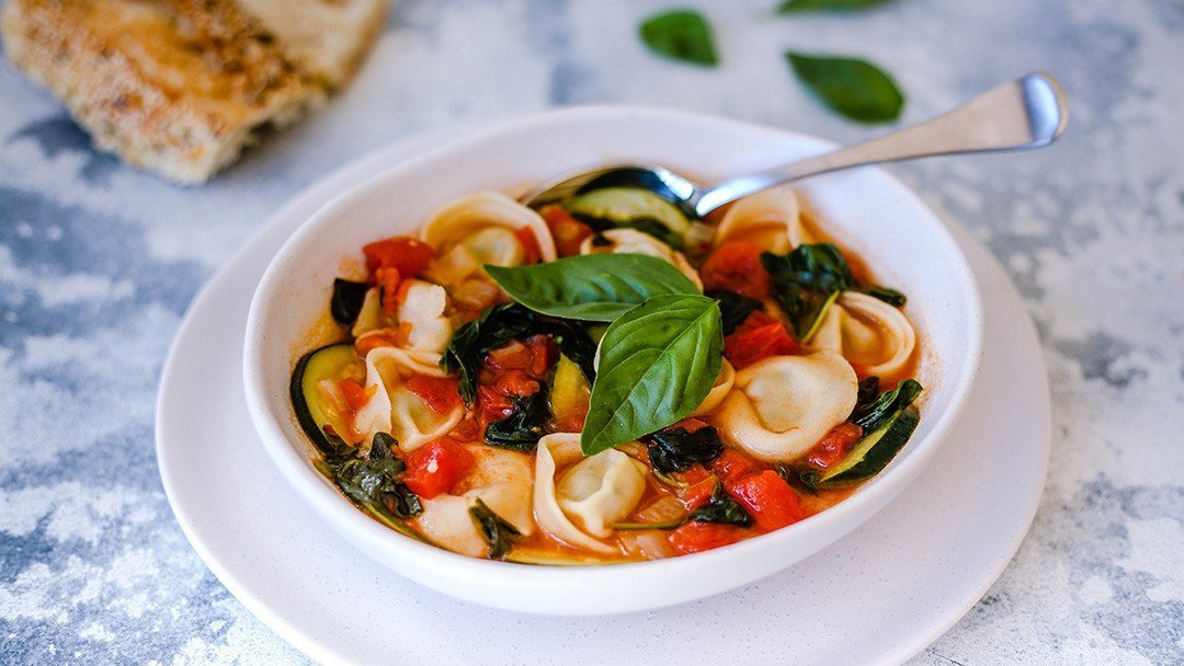 Healthy & Hearty Tortellini Soup - You Totally Got This - Quick & Easy Dinner Recipe