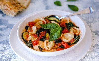 Hearty & Healthy Tortellini Soup