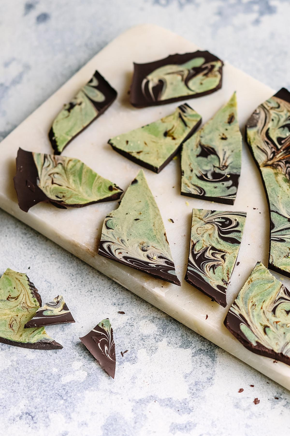 Matcha Swirl Chocolate - You Totally Got This - Sugar Free Desserts