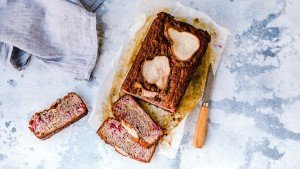 Raspberry & Pear Bread - You Totally Got This - Sugar Free Recipes