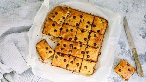 Chocolate Chip Blondies Recipe _ You Totally Got This - Low Sugar Dessert