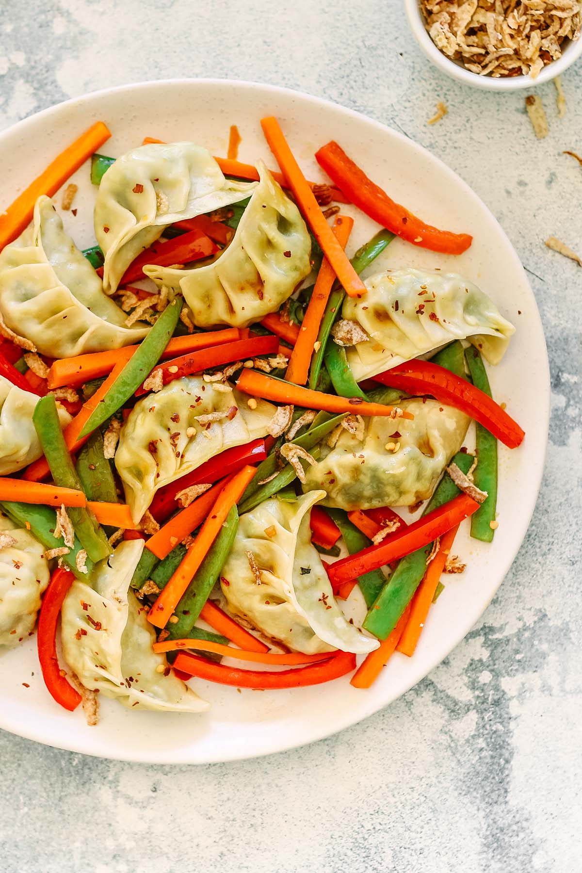 Dumpling Stir Fry - You Totally Got This - Quick & Easy Dinner Recipe