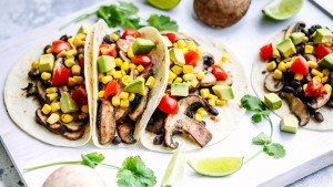 Mushroom and Black Bean Tacos - You Totally Got This - Quick and Easy Dinner Recipes