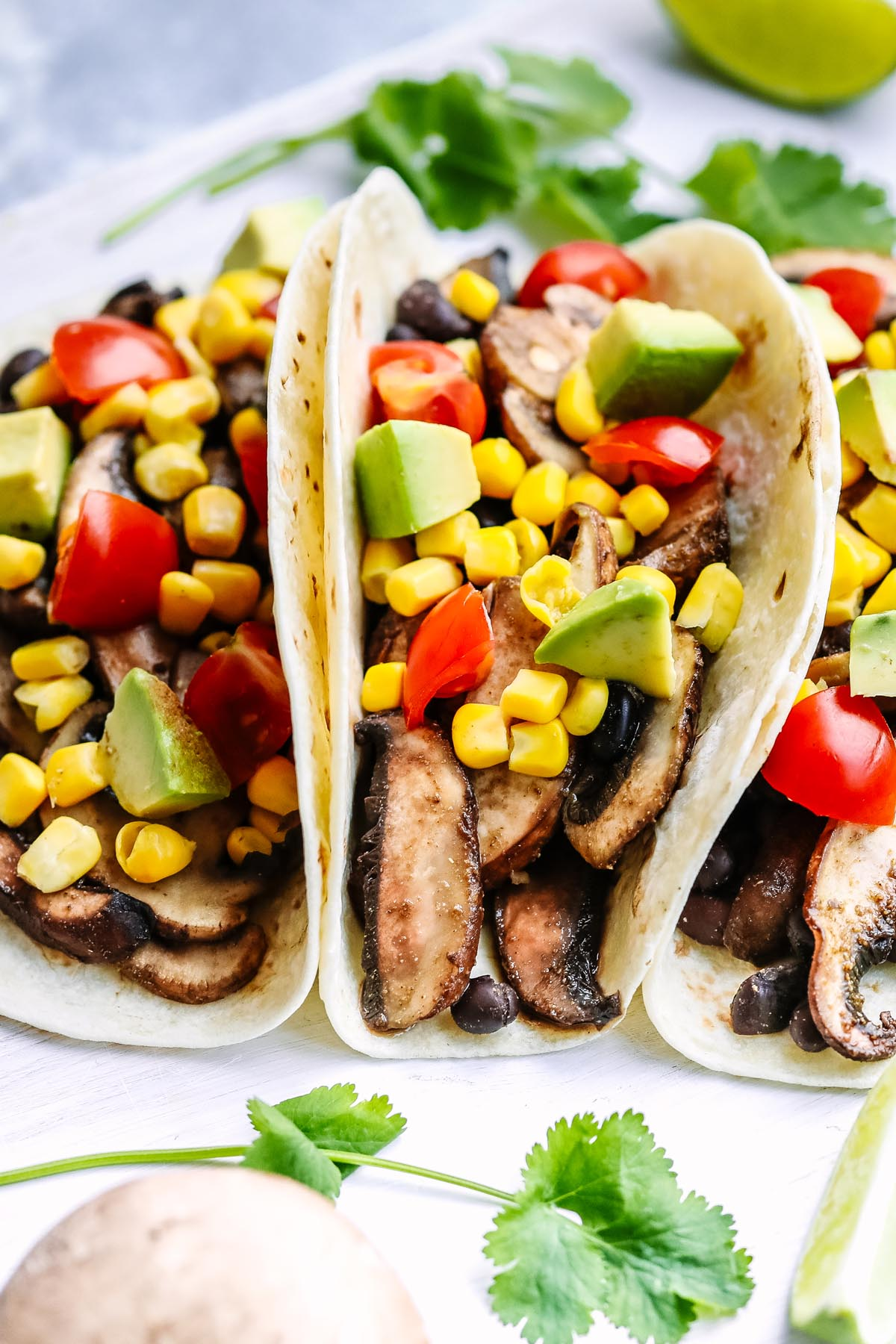 Mushroom and Blackbean Tacos - You Totally Got This - Quick and Easy Dinner Recipes