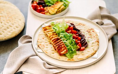 Halloumi Souvlaki | Quick, Easy & Delicious